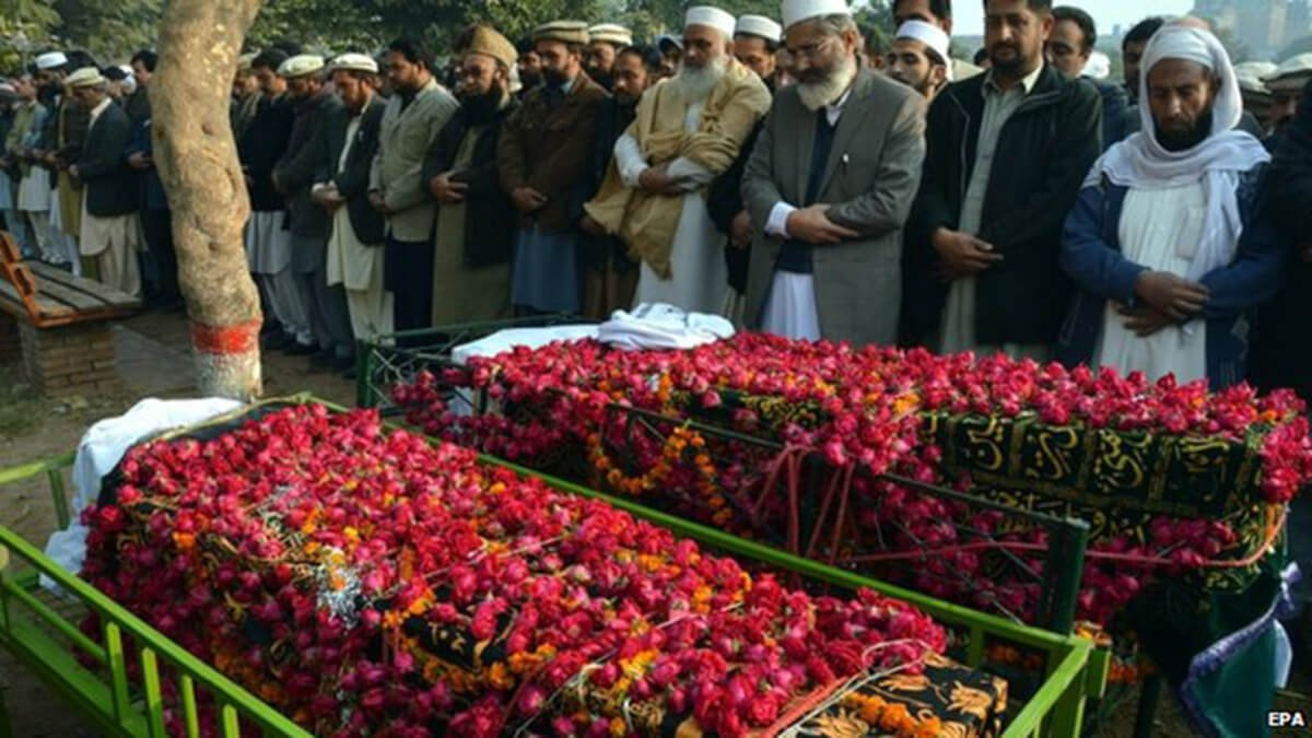 World outrage at the Peshawar school massacre