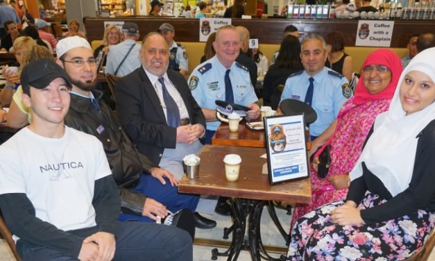 Coffee with A Cop: Meeting Police Chaplains