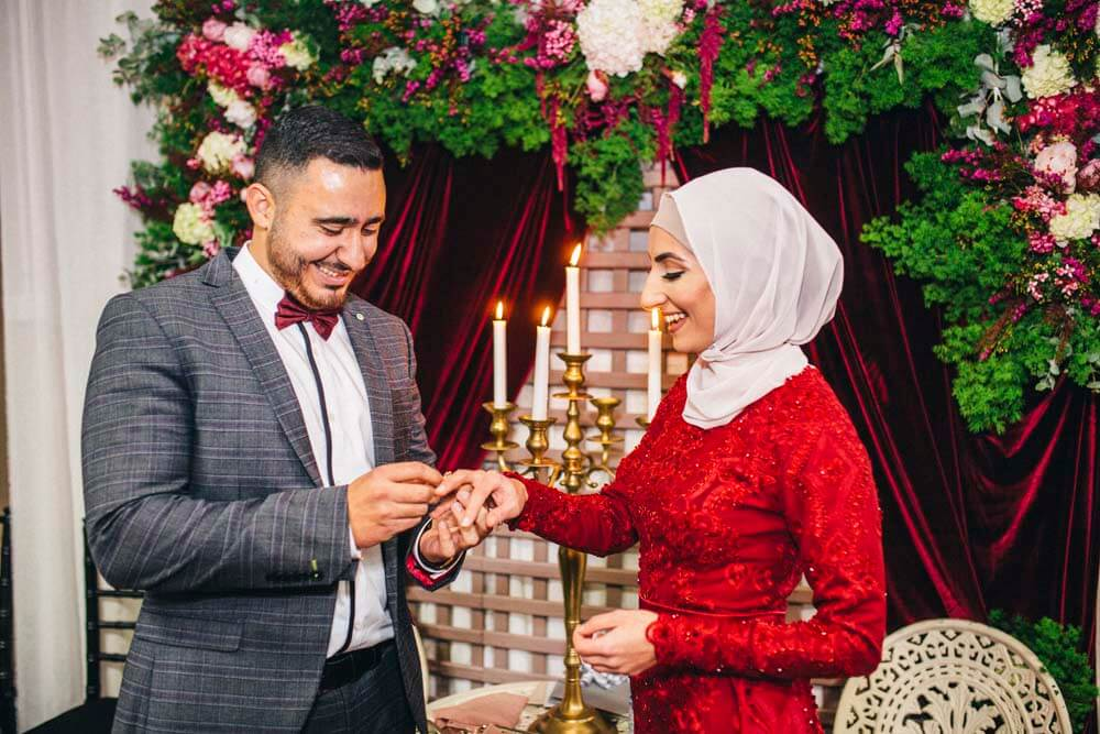 Abir & Mohammad's DIY engagement