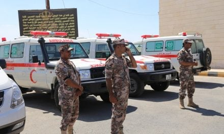 HAI provides 3 Ambulances Syrian Refugees