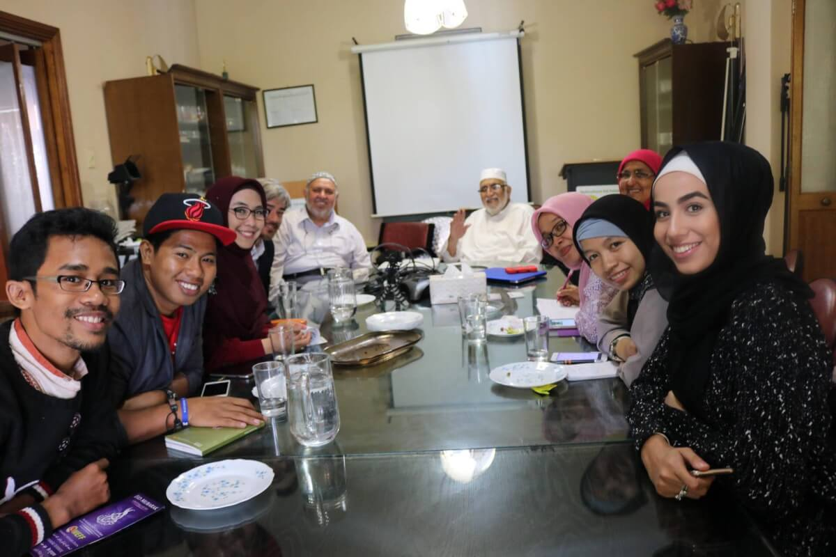 Indonesian Delegates meet Australian Muslims