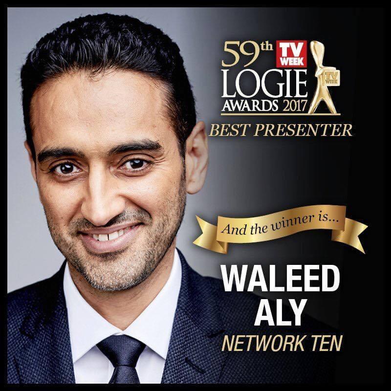 Waleed Aly wins Logie