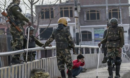Ongoing turmoil in Kashmir