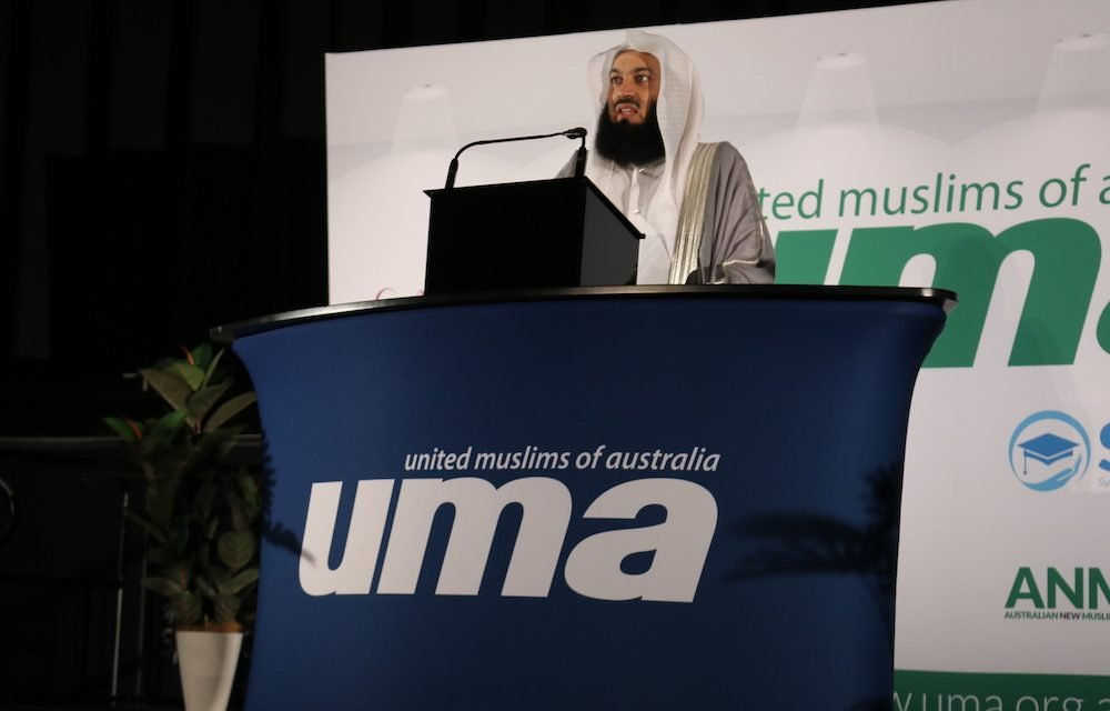Mufti Menk goes live in Sydney