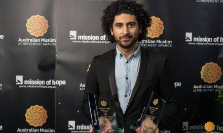 Osamah Sami takes centre stage at Muslim Achievement Awards