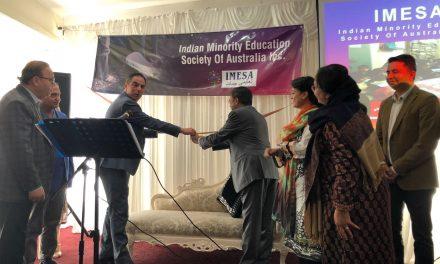 Jihad Dib launches Indian education charity
