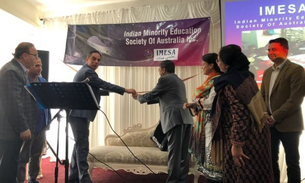Jihad Dib launches Indian education charity