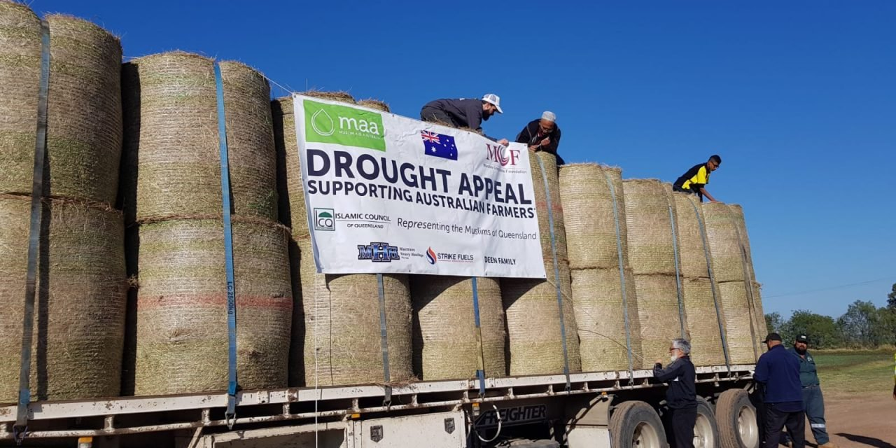 Drought Relief: Muslims helping Australian farmers
