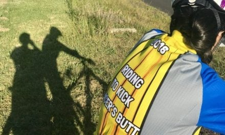 Pedal power to fight cancer with team Al Siraat