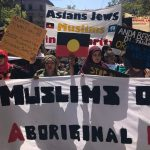 Diversity of support at 'Invasion Day' rallies