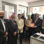 Dedicated educationist Waqas Jaffri visits Australia