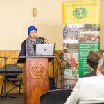 Hena speaks at WFWP 2019