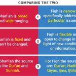 Shari'ah is not fiqh: Some clarifications