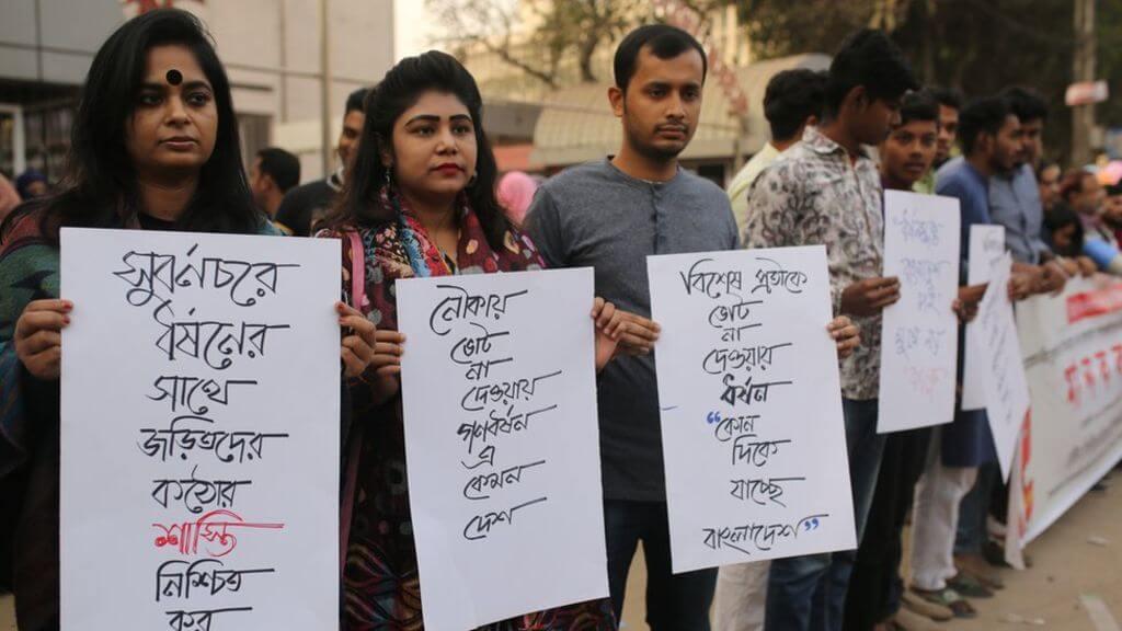 Rampant rapes in Bangladesh with killing of victims