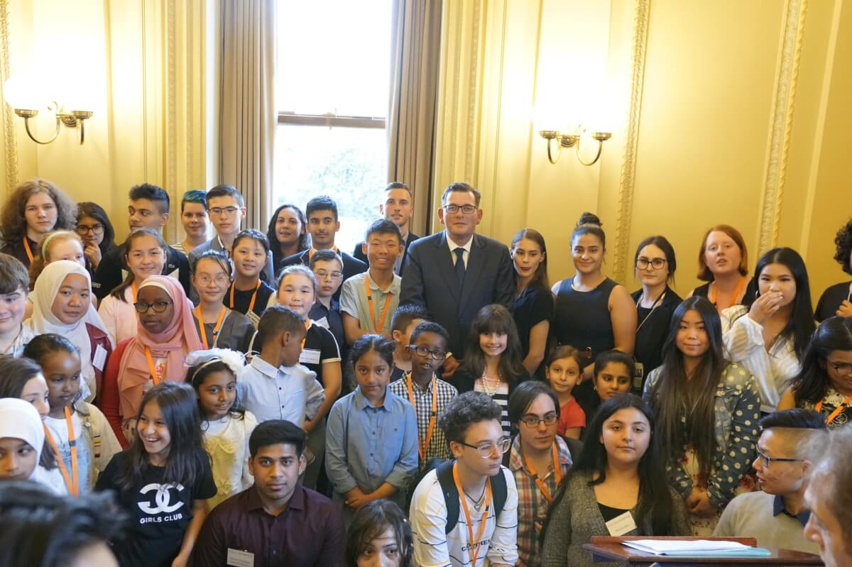Youth Art Exhibition at Victorian Parliament