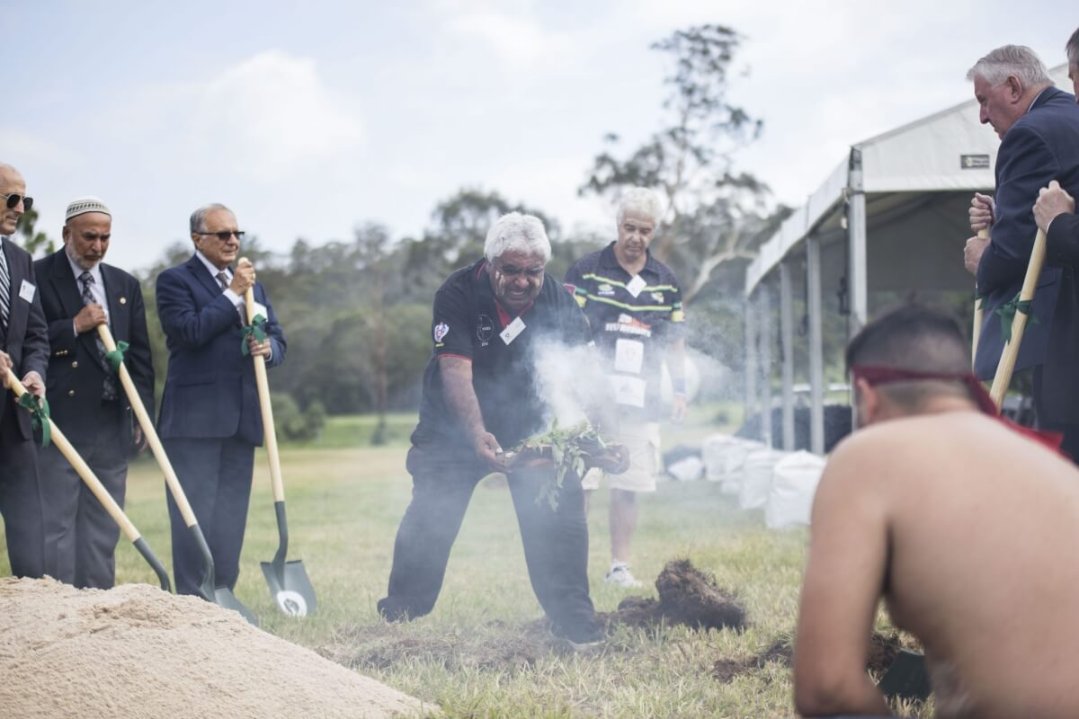 Sydney's new cemetery holds Ground-breaking Ceremony