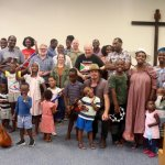 Country refugees benefit with music and instruments