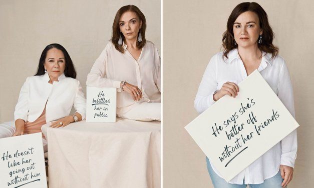 Leading Australians join marie claire in rally to prevent violence against women