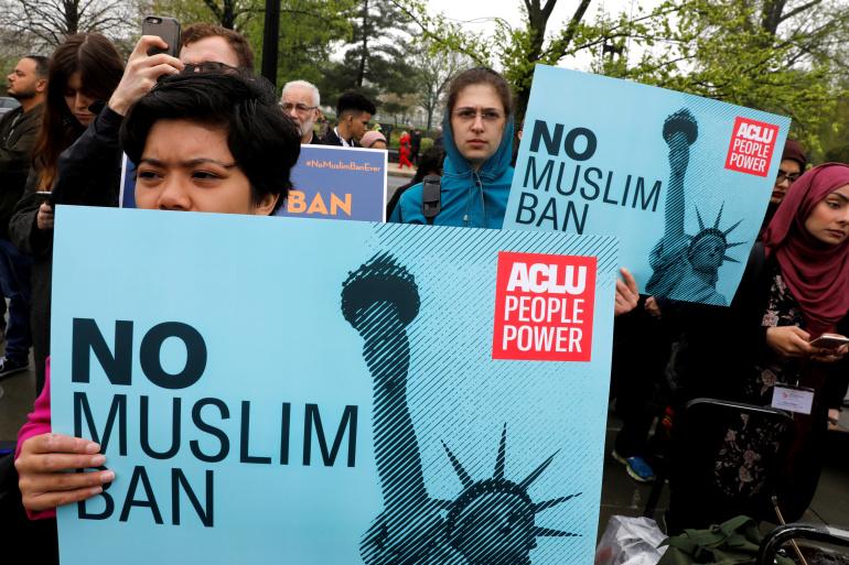 "No more ""Muslim Ban"" in US in future"