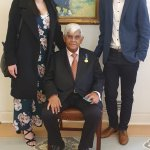 OAM investiture ceremony for Uncle Hashim