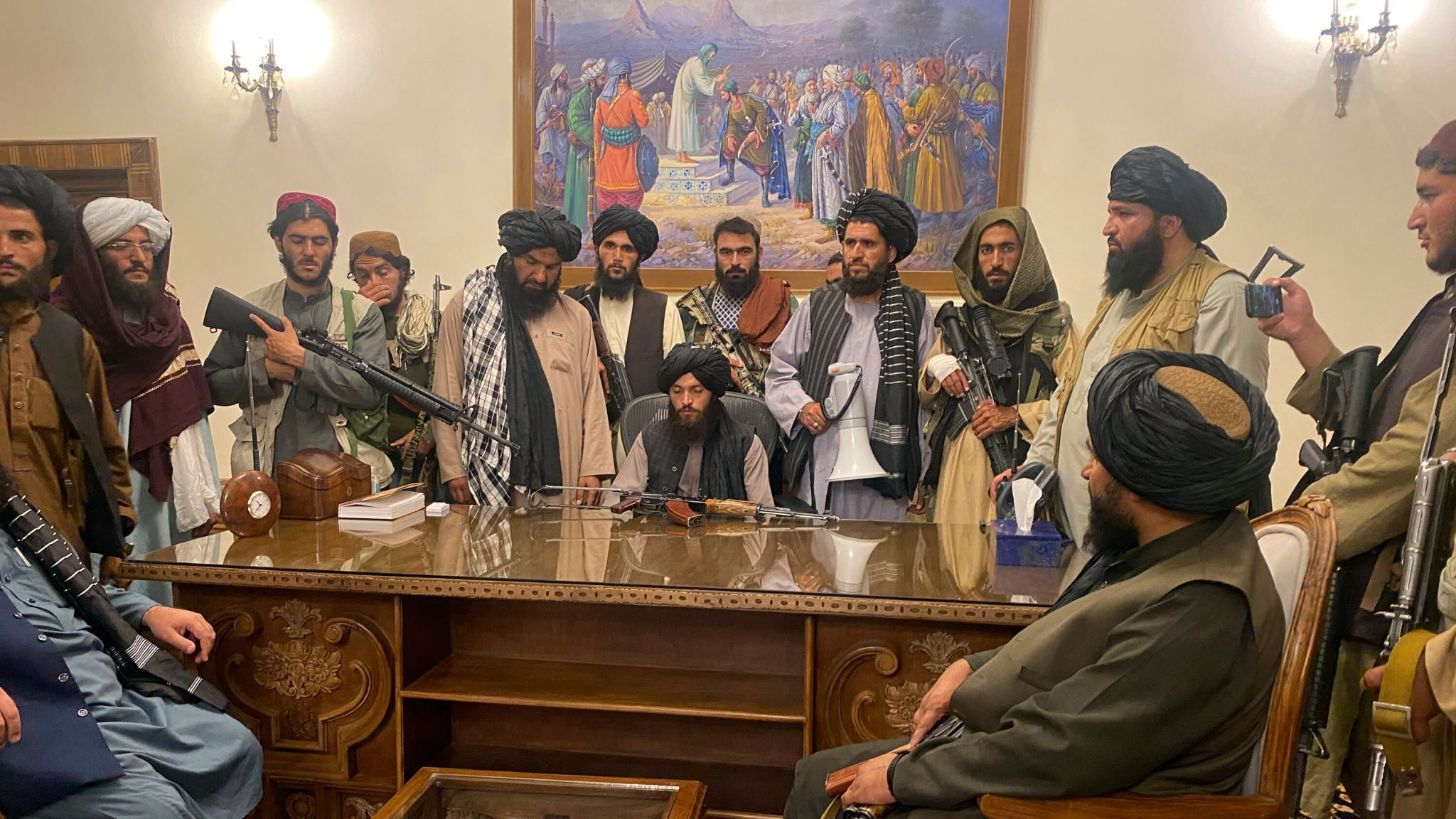 Taliban: The students need to learn good governance