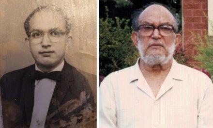 A tribute to Mr Ali Hussain Siddiqui